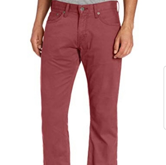 Levi's Other - Levi's 32 wine colored red straight leg Jean pants